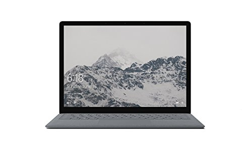 Microsoft Surface Laptop - Ordenador portátil ultrafino táctil 13.5'' (Intel Core i5-7200U, 4GB RAM, 128GB SSD, Intel Graphics, Windows 10) Plata - Teclado QWERTY Español