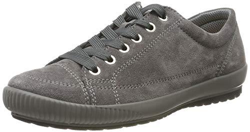 Legero TANARO-Sneaker, Damen Niedrig- Anderes Leder, Grau (Fumo (Grau) 22), 40 EU (6.5 UK)