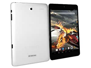 CONNECT A8 Turbo Tablette Tactile - Argent - 7.85 pouces écran capacitif, Quad Core 1.5GHz, Android 4.2, 8Go de Stockage, OGS, XGA Screen, HDMI, Dual Caméra, Bluetooth, WIFI