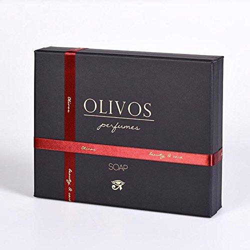 OLIVOS Parfum Set Mystic Nile Savon 2 x 250 g Savon en Poudre 2 x 100 g