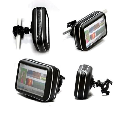 Navitech GPS Fahrrad und Motorrad Wasserfeste Halterung / Montierung und Case für FALK NEO 500 + 520 + 520LMU + PUR 550 + 550 2nd edition + Flex 500
