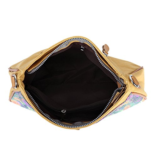 Women Messenger bag for Briefcase cross Gelb Casual Canvas Bag shoulder bag body Men Eshow XqxFPwA