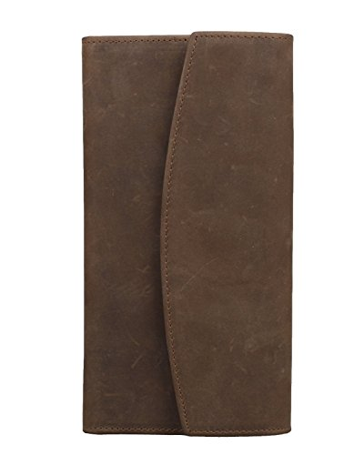 baigio-mens-leather-travel-wallet-card-case-clutch-bag-brown