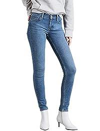 Levi´s ® Damen Jeans Hose Denim 724 HIGH RISE STRAIGHT LIVE IT UP 18883-0010