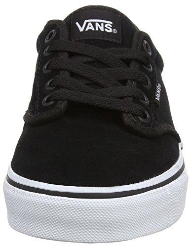 Vans Atwood, Sneaker Basse Donna Nero (Blackweatherized)