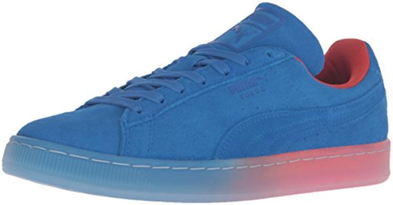 PUMA Men's Suede Classic Fade Future Fashion Sneaker  Royal  5.5 M US