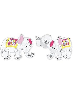 Prinzessin Lillifee Kinder-Ohrstecker Elefant 925 Silber rhodiniert