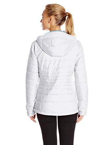 Columbia Go To Veste de sport d'hiver à capuche Femme Groovy Blanc