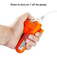 ooklee Unidad de control de batería recargable de repuesto para duchas portátiles con batería de repuesto