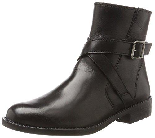 Tamaris Damen 25079 Stiefel, Schwarz (Black), 40 EU (Damen Schwarz Leder Stiefeletten)