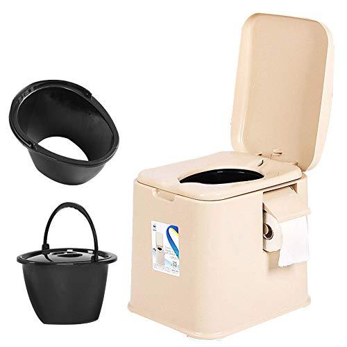 Toilet chair Camping WC para, Inodoro portátil,Productos de higiene Limpieza desmontaje extraíbles,...