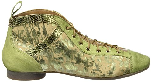 Think! Damen Guad Desert Boots Grün (apfel/kombi 59)