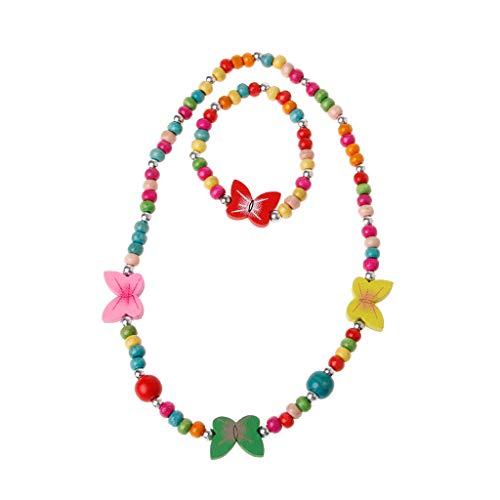 JAGENIE Schmuckset, Prinzessin Halskette Armband Schmuckset Kleinkind Kinder Kostüm Schmuck für Kinder (Kleinkind Kostüm Bilder)