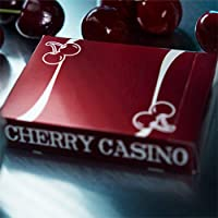 SOLOMAGIA Cherry Casino (Reno Red) Playing Cards by Pure Imagination Projects