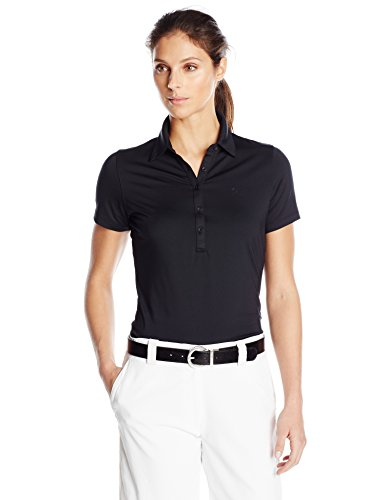 Under Armour Zinger SS Chemise Polo Femme, Black (001), FR (Taille Fabricant : XL)