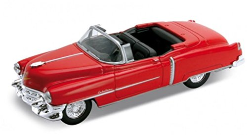 1953-cadillac-eldorado-convertible-welly-42356-red-approx-138-scale-die-cast