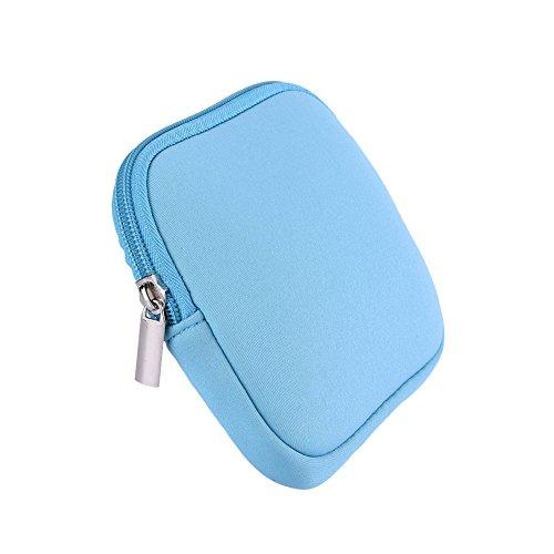 Tragbare Organizer-Tasche für digitales Zubehör wie Power Bank AD Karte USB Drive Kit für MacBook Air 13Pro 111215 blau blau Pro Digital-zubehör-kit