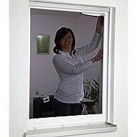 Malla anti-polen Hecht International con cinta de velcro 130 x 150 cm en antracita, 1 unidad, 130 x 150 cm, 101420107-CU