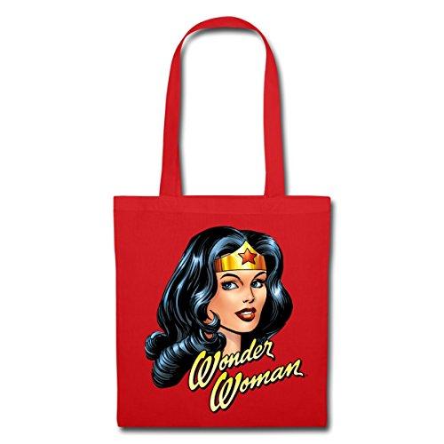 Spreadshirt DC Comics Wonder Woman Portrait Tote Bag
