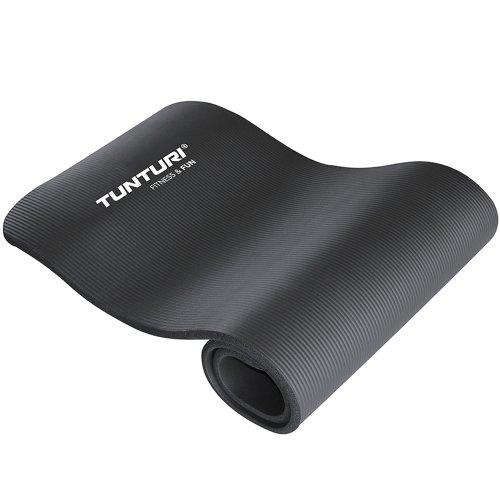 Tunturi Fun Professionelle Gymnastikmatte schwarz schwarz 1,5 cm
