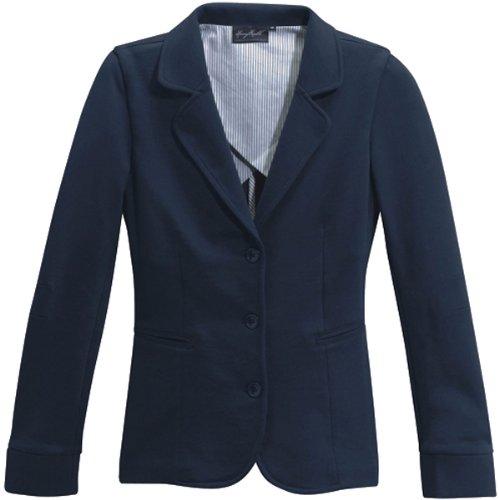 HAKRO-sweat-blaze veste de survêtement haute - 260–plusieurs coloris Bleu - Tinte