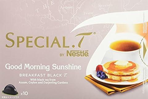SPECIAL.T by Nestlé Thé Noir Petit Déjeuner Good Morning Sunshine