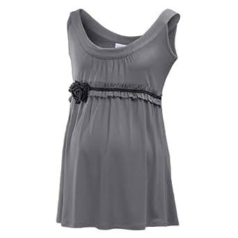 2HEARTS Top Umstandsshirt Schwangerschafts-Shirt, Größe 36, grau
