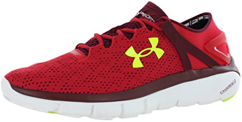 Under Armour UA Speedform Apollo Twist - Zapatillas de Running para Hombre, Color Rojo, Talla 47.5 EU