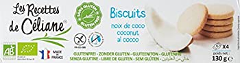 Céliane Sablés Noix de Coco 150 g - Lot de 6