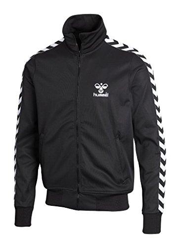 Hummel Herren Jacke Altantic Zip - schwarz/weiß, Größe Hummel:XS Atlantic Zip Jacket