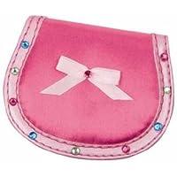 Pink Poppy - Portamonete, colore: Rosa acceso