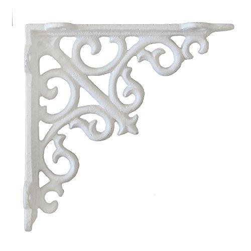 Angolo Lousanne bianco in ghisa Reggimensola porta
