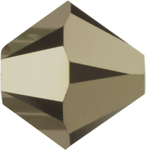 Original Swarovski Elements Beads 5328 MM 4,0 - Olivine (228) ; Diameter in mm: 4.0 ; Packing Unit: 1440 pcs. Crystal Metallic Light Gold 2x (001 MLG2)