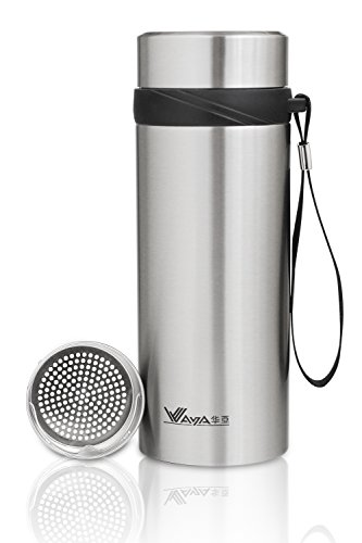 thermos-tea-infuser-stainless-steel-flask-water-bottle-580-ml-195-ml-with-a-carrying-strap
