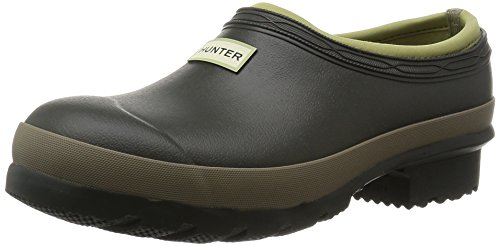 Orion Field Ladies Gardener Clog, Dark Olive/Clay, 6