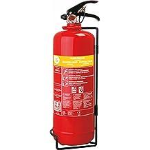 Smartwares SB2 - Extintor, resistencia al fuego AB (2 l de espuma) color rojo