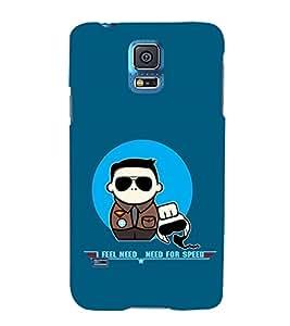 EPICCASE NFS Mobile Back Case Cover For Samsung Galaxy S5 Mini (Designer Case)