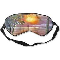 Sunset Art Paint Sleep Eyes Masks - Comfortable Sleeping Mask Eye Cover For Travelling Night Noon Nap Mediation... preisvergleich bei billige-tabletten.eu