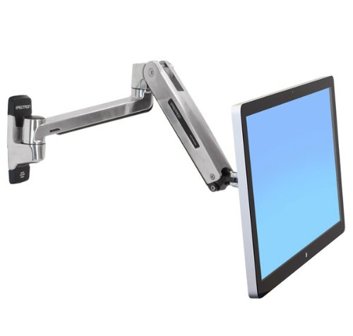 Ergotron 45-383-026 LX HD SIT Stand WALL Mount 2Maximale VESA Norm:VESA 75 x 75 Lx Hd Wall Mount