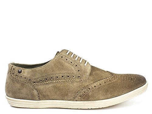 Base London Bas Homme Taupe-Brogue