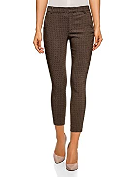 oodji Ultra Donna Pantaloni Skinny in Viscosa