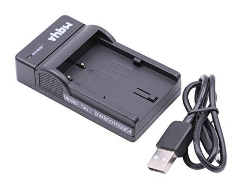 vhbw Micro USB Ladegerät Ladekabel für Kamera Canon EOS 10D, 1D, 20D, 300D, 30D, 40D, 5D, D10, D20, D30, D60.