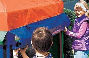 Winnetoo Ersatzdach - Sonnenschutz Dach BUNT für Sandkasten Benjamin 1159