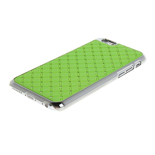 "MOONCASE iPhone 6 (4.7"") Case Bling Chrome Hard Shell Cover Housse Coque Etui Case pour Apple iPhone 6 (4.7"") Rouge Vert"