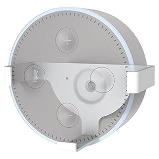 Hama Wandhalterung für Echo Dot, 2. Generation (platzsparende Echo Dot-Lautsprecher Halterung) Wand-Halter/-Befestigung weiß
