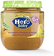 Hero Baby Mandarin And Banana With Pear, 125 gm