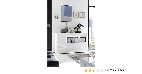 Credenza Sospesa Per Ingresso : Mobile contenitore mobiletto ingresso moderno nike bianco lucido