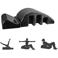 Pilates Spine Yoga Pilates Pilates Negro cama de masaje, yoga desmontable Spine Corrector, aparatos de gimnasia for que adelgaza formando la recuperación de la ayuda lumbar de la columna vertebral Vol
