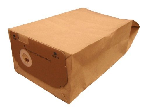 Dust Bags X 10 To Fit Electrolux Widetrack Upright Vacuum Cleaners - Equivalent To E60n Paper Bags Picture
