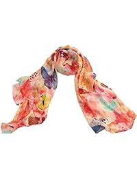 HITSAN INCORPORATION Shanghai Story natural silk scarf shawl hijab wrap  women female long style spring summer ccae3a04f07